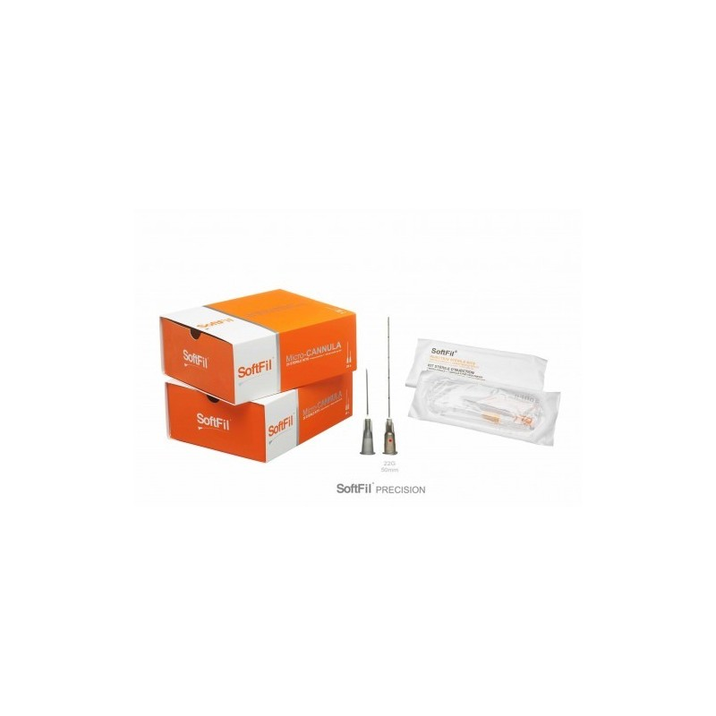 SoftFil® Precision cannula 22G 50mm/XL (1 kit)