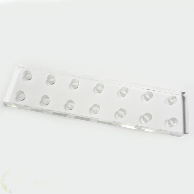 Acrylic pigment caps holder Nr.5 (14 halls)