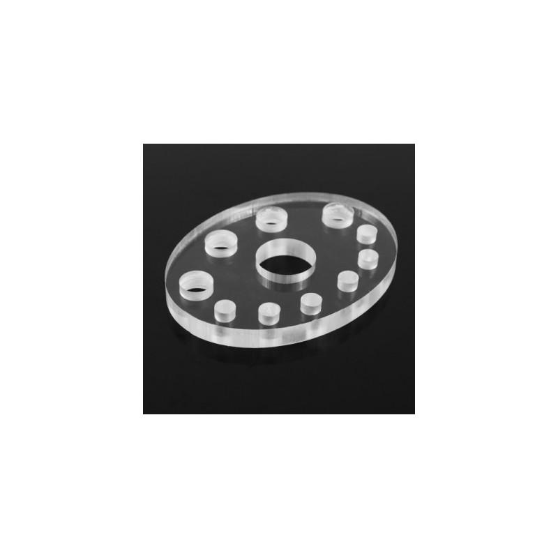 Acrylic pigment caps holder Nr.16 (11 halls)