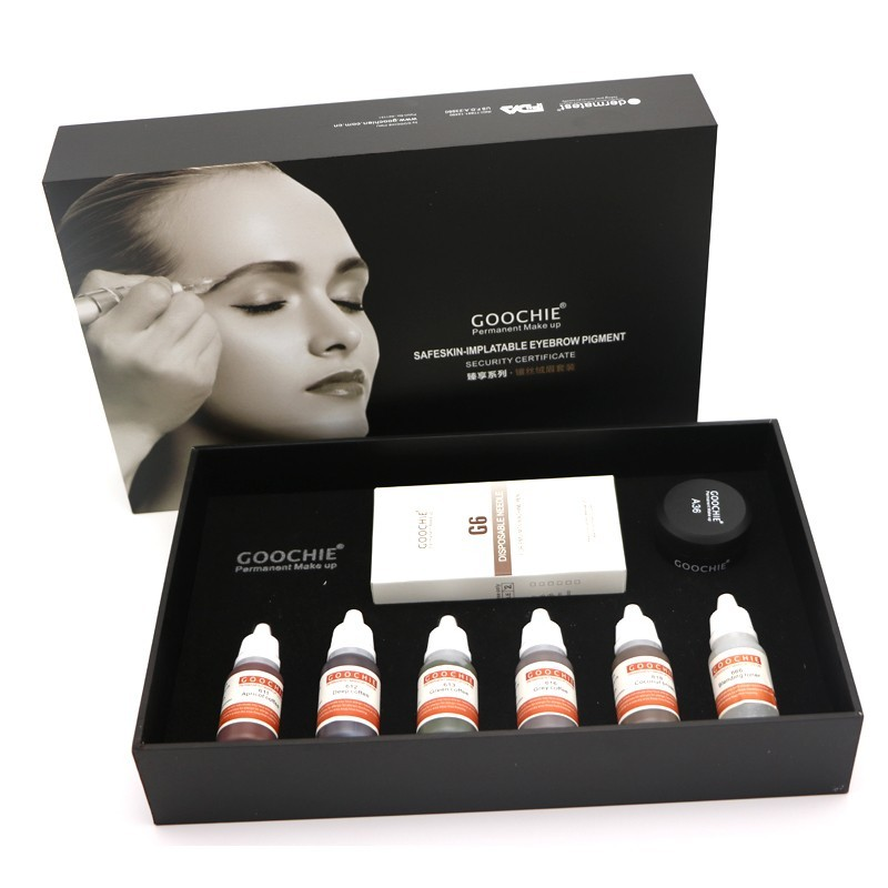Goochie permanent makeup pigments kit