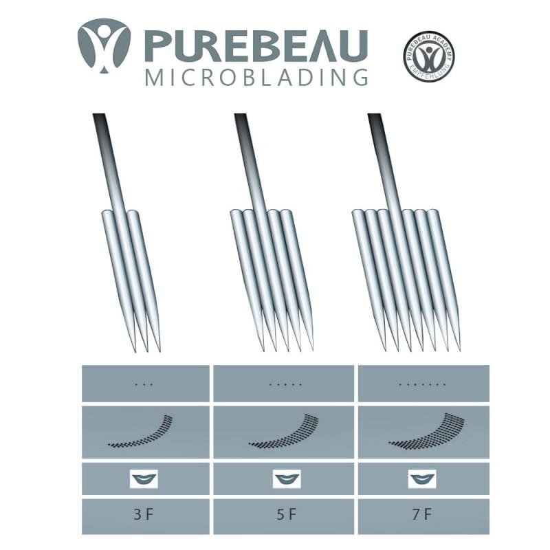 Purebeau FlaT pigmentation needle (3F, 5F, 7F) 1 pcs.