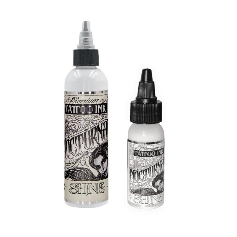 Nocturnal Tattoo Ink - Shine White 30-60 ml.