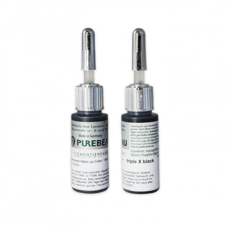 Purebeau Eyeliner pigments triple X black (10ml.)