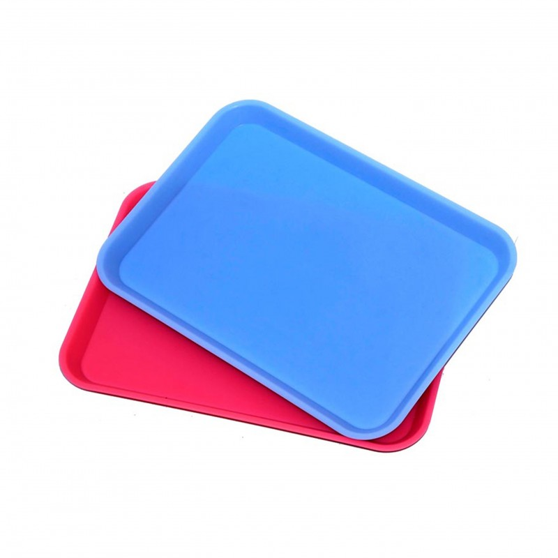 Set-up plastic tray