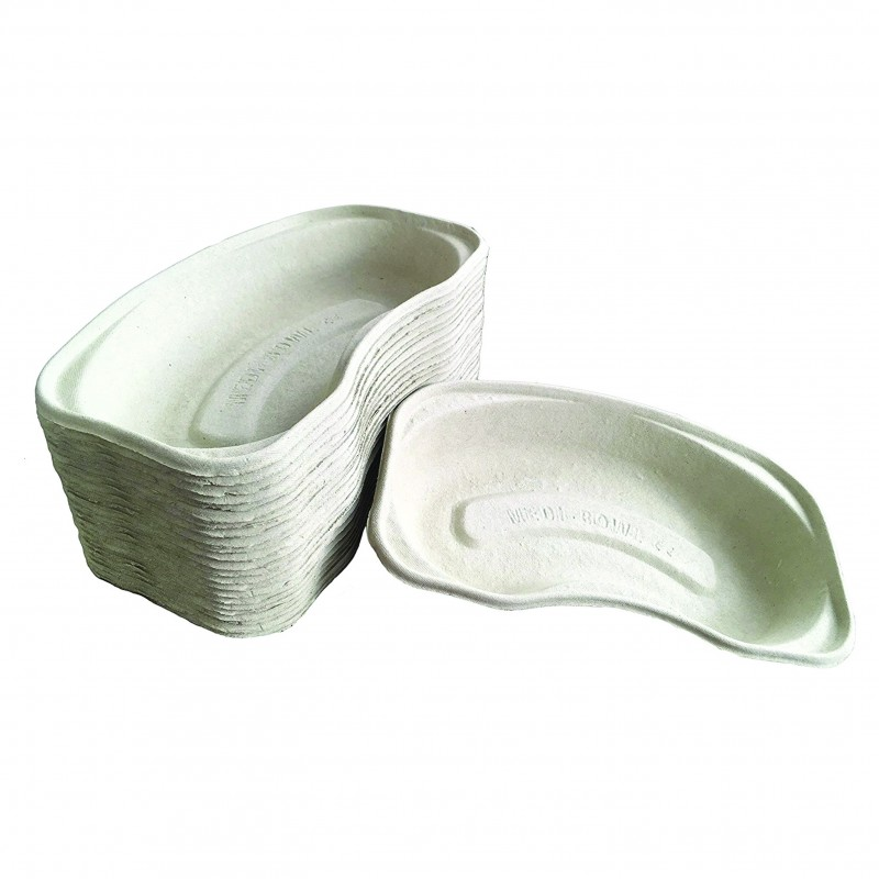 Disposable cardboard dishes (1pcs.)