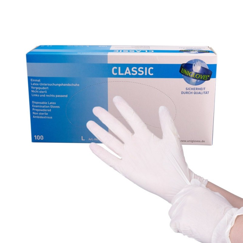 CLASSIC Latex Gloves (XS - S)