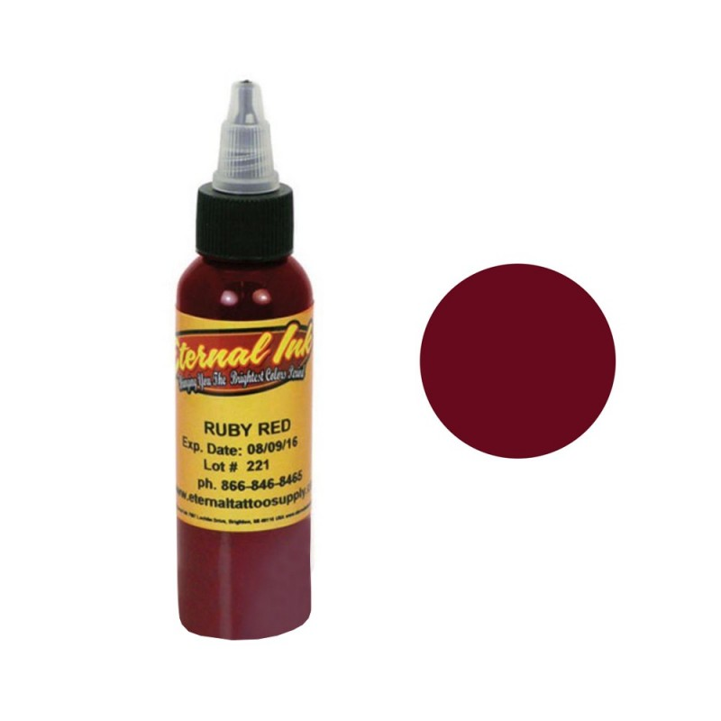 Eternal Ink Ruby Red pigment (30ml.)