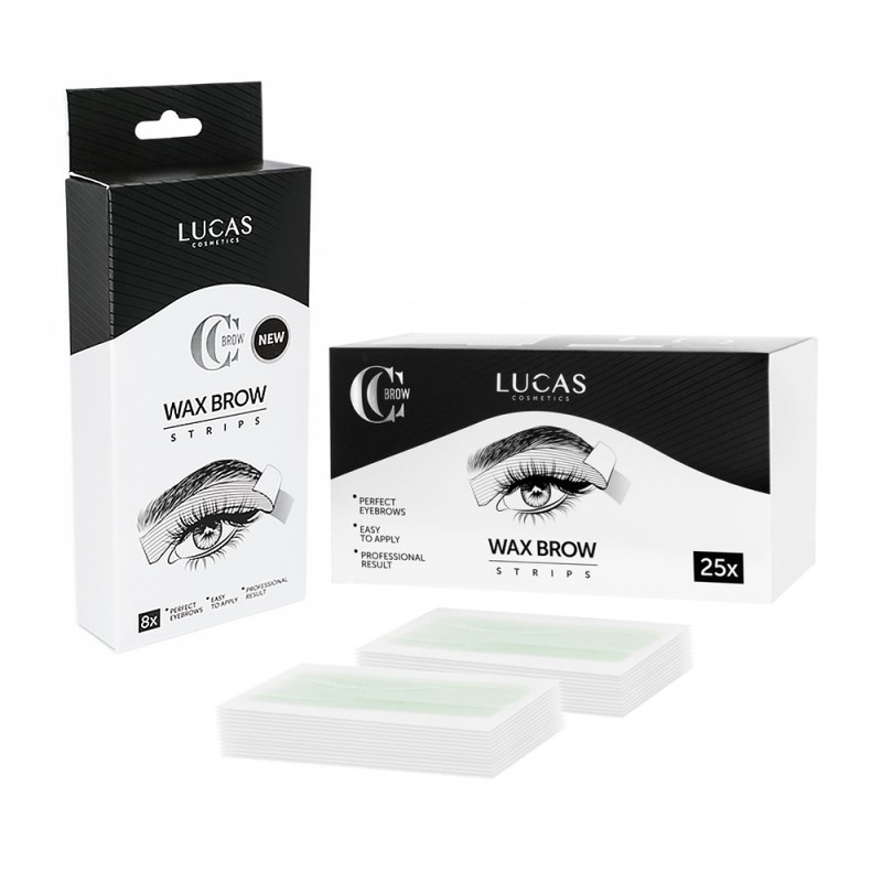 CC Brow WAX Brow Strips -  (8 -25 pcs.)