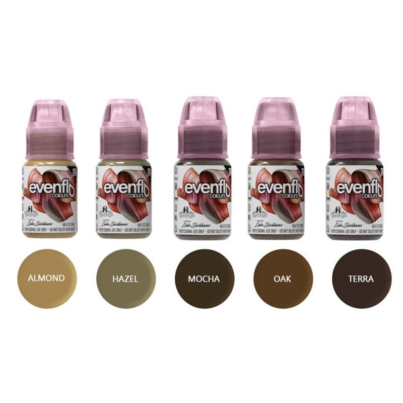 Perma Blend Evenflo brow pigments 15 ml. (1 pcs.)