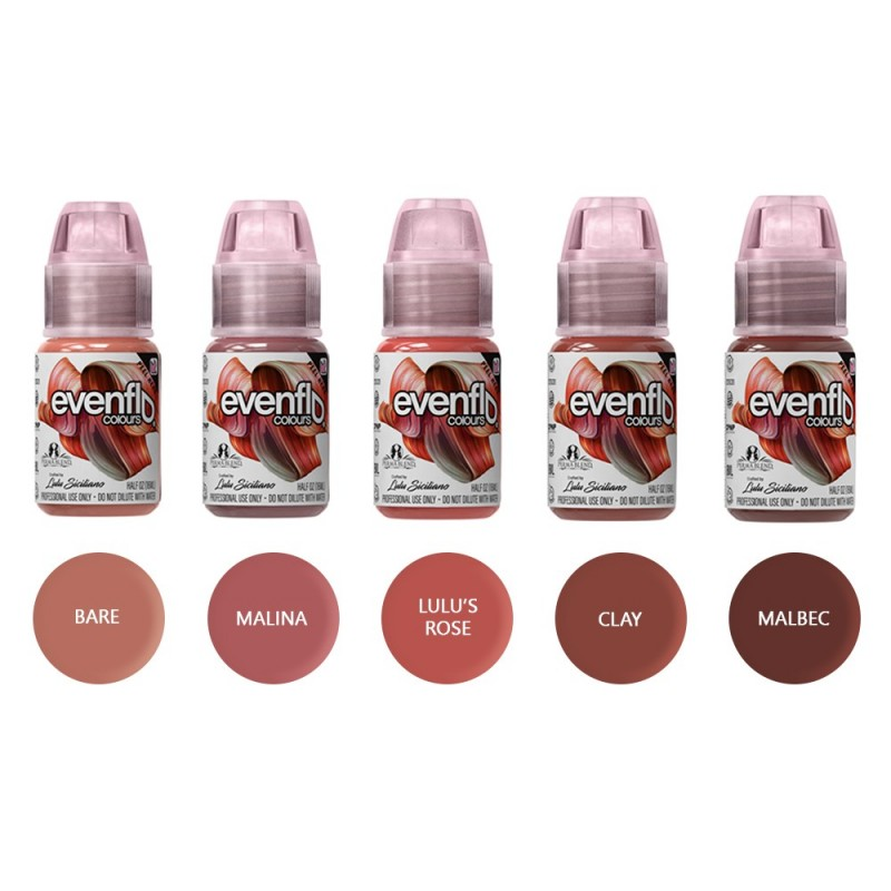 Perma Blend Evenflo lips pigments 15 ml. (1 vnt.)