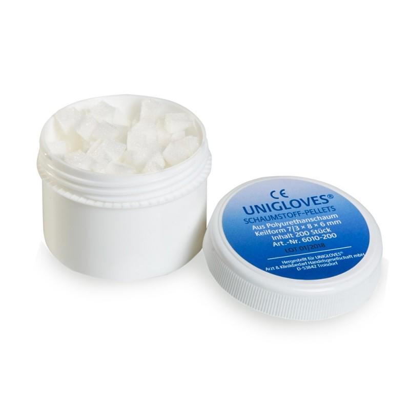 UNIGLOVES Foam pellets (applicators) 200pcs.