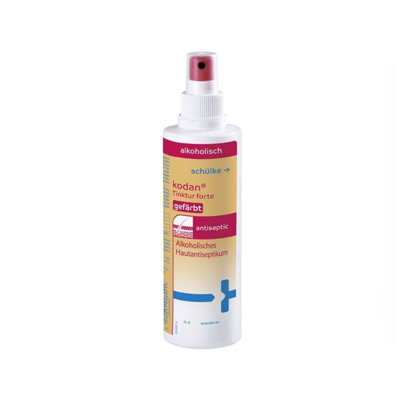 Kodan Tinktur Forte skin and hands disinfection 250 ml. (colored)