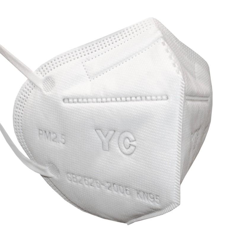 Protective face mask - respirator 4 layers KN95 PM2,5 (1pcs.)