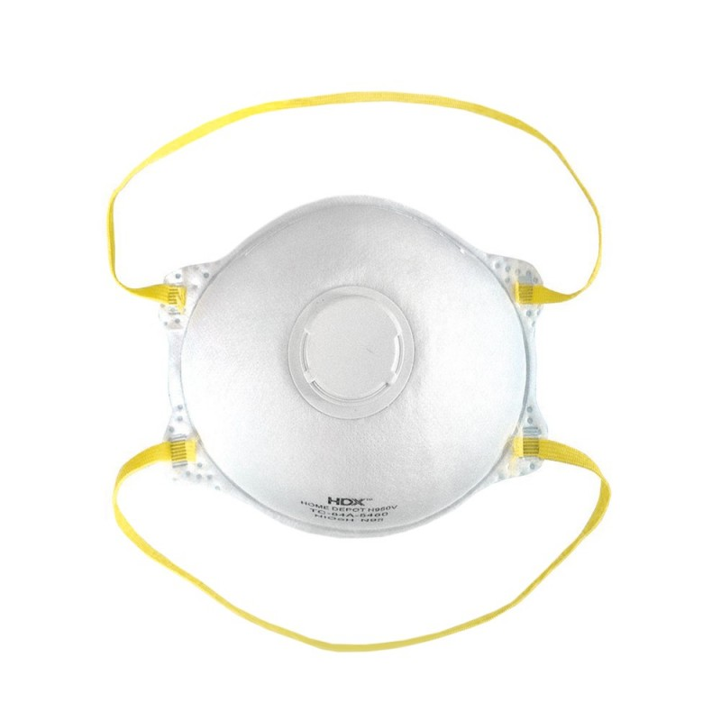 Respirator-mask with valve NIOSH N95 (1pcs.)
