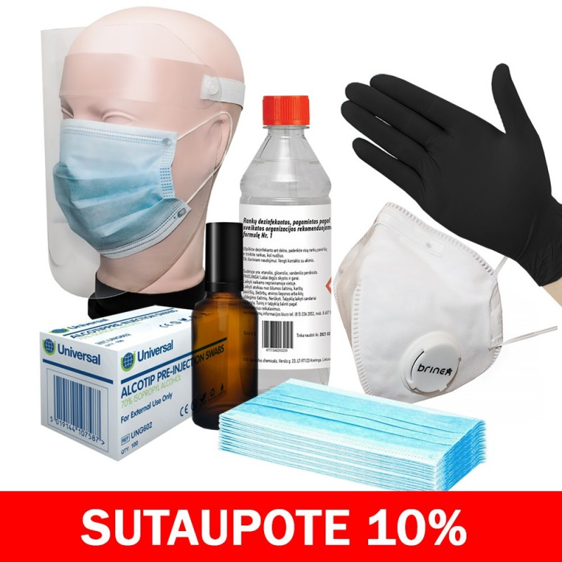 Disinfection kit MIDI