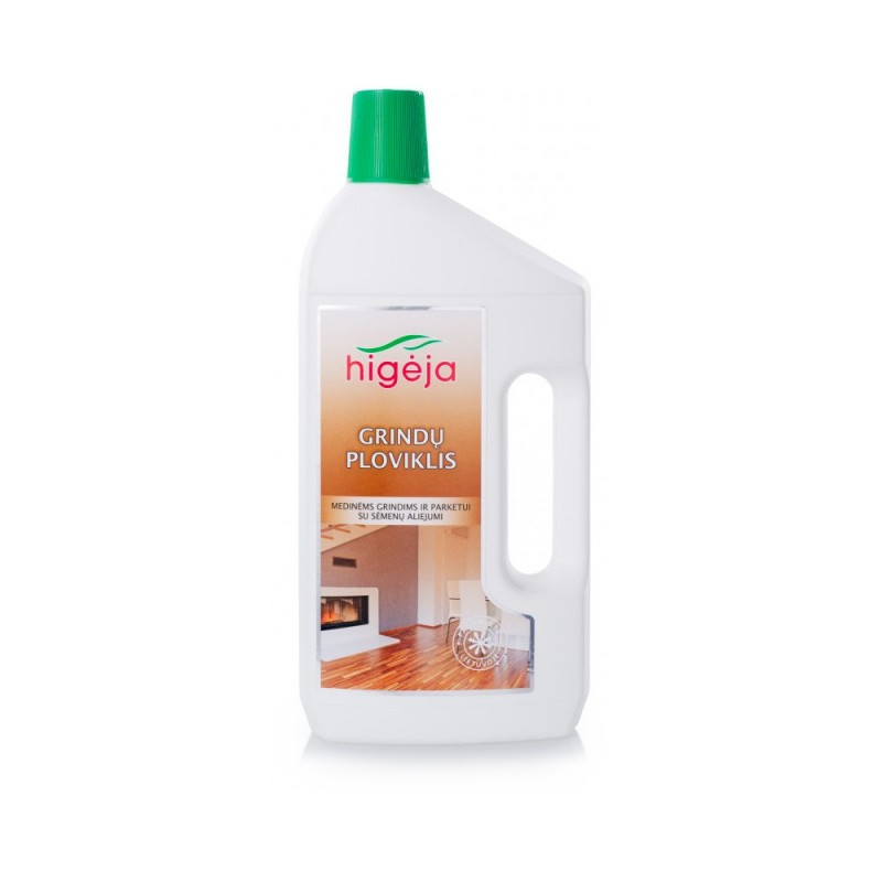 Cleaner for wooden floors and parquet HIGĖJA, 1l.