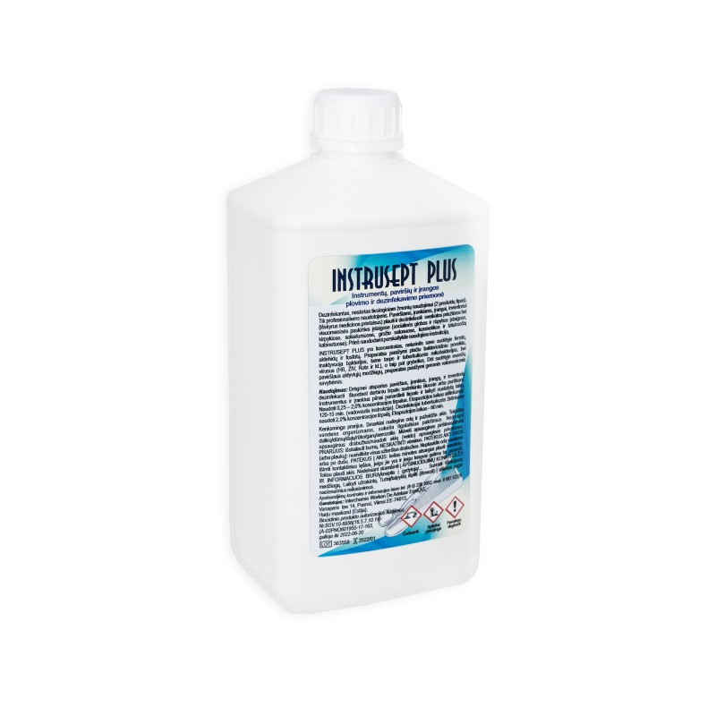 Instrusept Plus surface and tool disinfectant 1l.