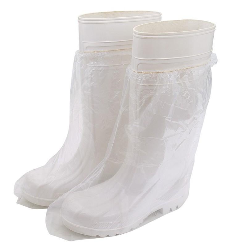 UNIGLOVES PE boot covers 10pcs.