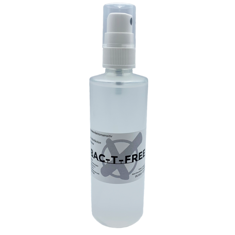 Purebeau BAC-T-FREE Skin Disinfectant 100ml.