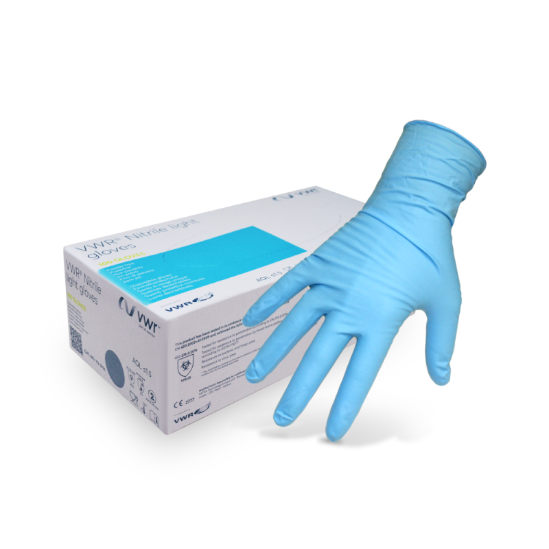 VWR Nitrile Light Disposable Gloves (100pcs.)