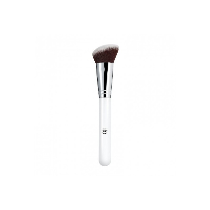 ILU 301 Angled Blush Kabuki Brush