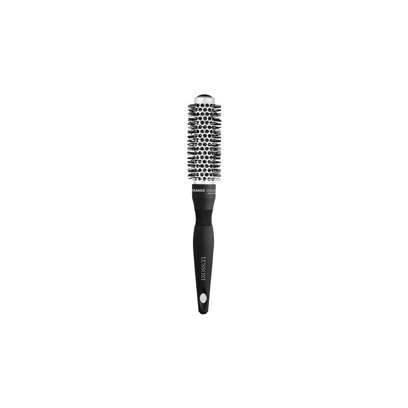 LUSSONI Hot Volume Styling Brush With Waved Bristles (25mm)