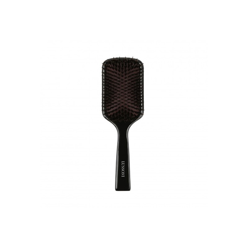 LUSSONI Wooden Paddle Hairbrush