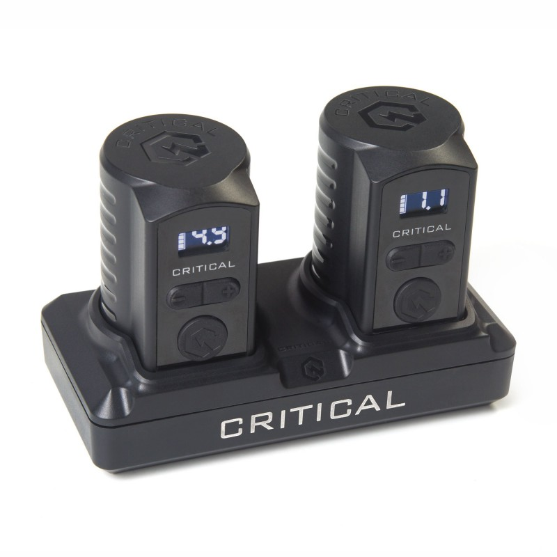 Critical Universal Battery Bundle With Charging Dock (RCA)