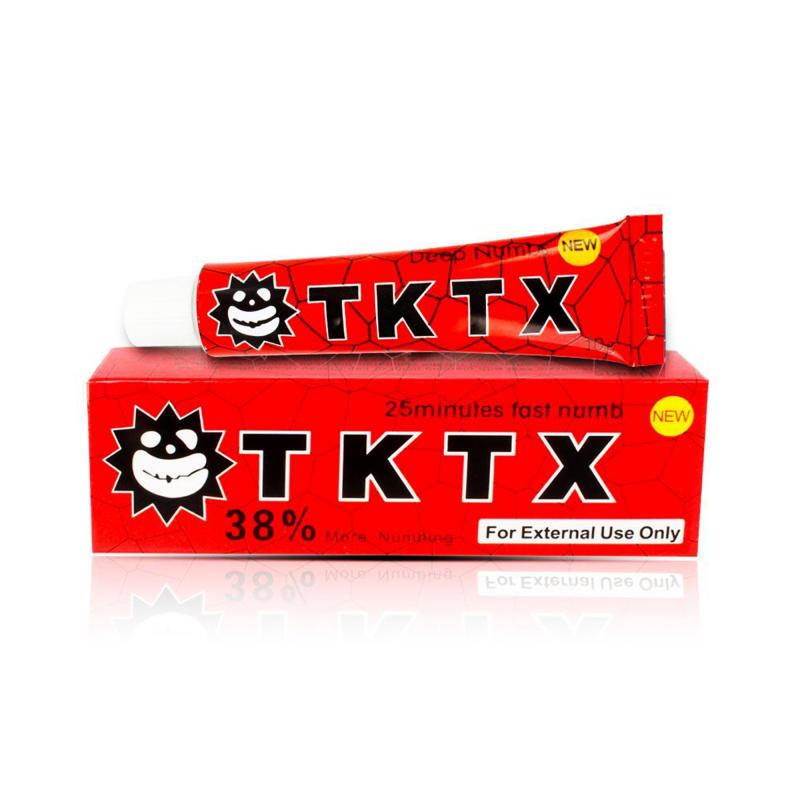 TKTX RED 38% Tattoo Cream (10 g.)