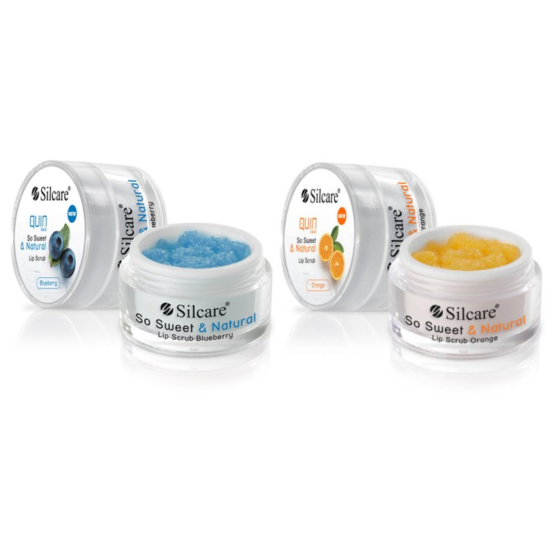 Silcare QUIN So Sweet & Natural Lip Scrub (15g)