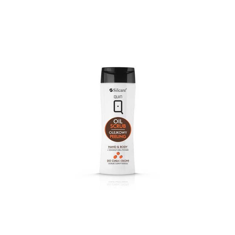 Silcare QUIN Hand & Body Oil Scrub (275ml)