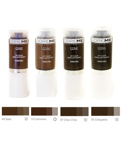 DOREME Permanent Makeup pigment (Conc colors - Microblading)