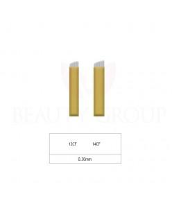 Biomaser Microblading 12 - 14 CF needle- 0,30mm (1 pcs.)