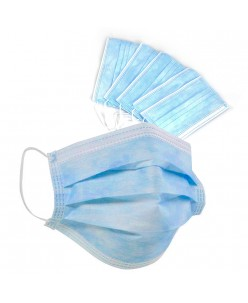 Disposable Face Masks - 2 layers (50pcs.)
