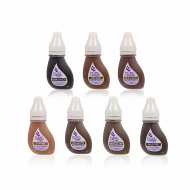 Biotouch Pure Eyebrows pigments (3ml)