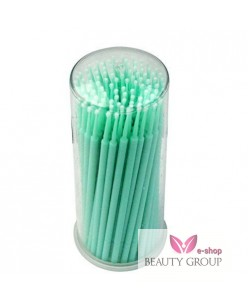 MICROBRUSH 2,5 mm head Pack 100 pcs