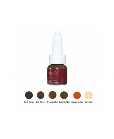 Goochie Microblading pigments (creamy) (10ml.)
