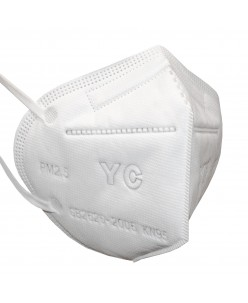 Protective face mask - respirator 4 layers KN95 PM2,5 (1pcs.)