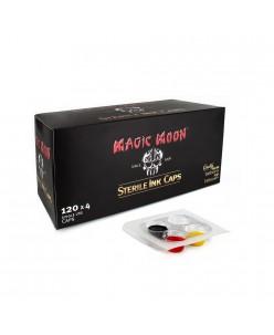 Magic Moon Sterile Ink Caps, 120 x 4 Caps