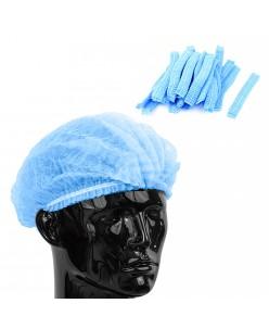 Disposable caps PP blue (20pc.)