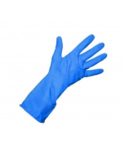 ALLSAFE Industrial Latex Gloves (M - L) (BLUE)