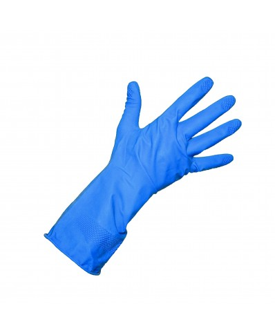 ALLSAFE Industrial Latex Gloves (M - L) (BLUE)