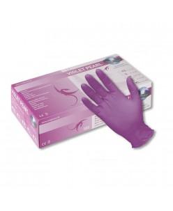 PEARL Nitrile Gloves (XS - S - M - L) (VIOLET PEARL)