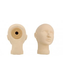 Permanent Makeup Mannequin Head