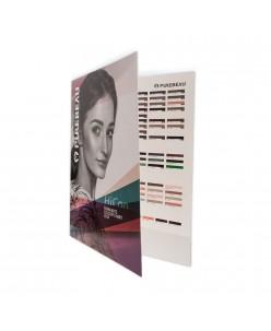 Purebeau colour chart