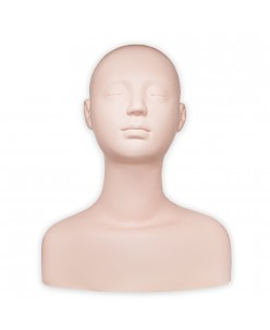 Practice mannequin head with shoulders