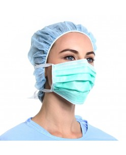 UNIGLOVES medical face masks with long band 10 pcs.
