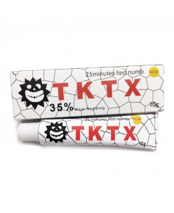 TKTX WHITE 35% Tattoo Anesthetic Cream (10 g.)