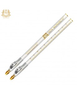 Skin Monarch white outline pencil