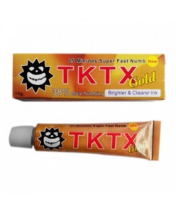 TKTX GOLD 38% Tattoo Anesthetic Cream (10 g.)